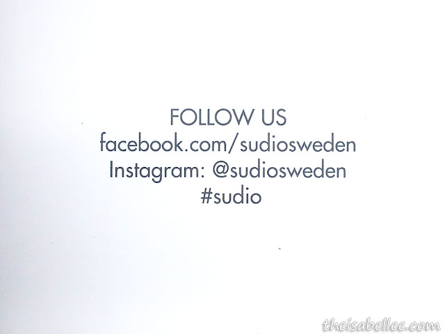 Sudio Sweden Facebook and Instagram accounts