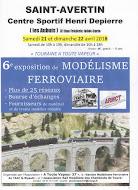 """Nos amis d'""""A TOUTE VAPEUR 37"""" organisent la 6° exposition de modélisme ferroviaire"""