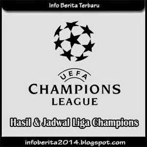 Hasil Dan Jadwal Liga Champions 2014-2015
