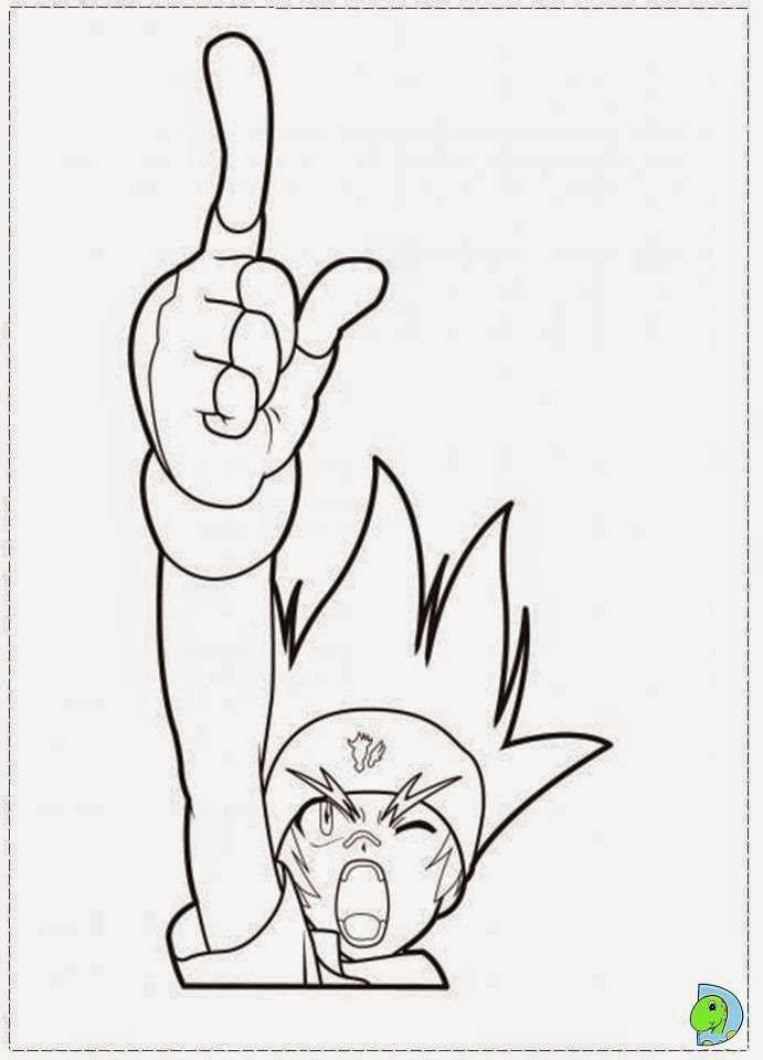 beyblade coloring pages rock lyon - photo#21