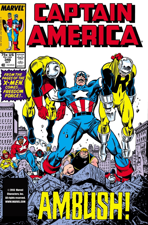 Captain America (1968) Issue #346 #276 - English 1