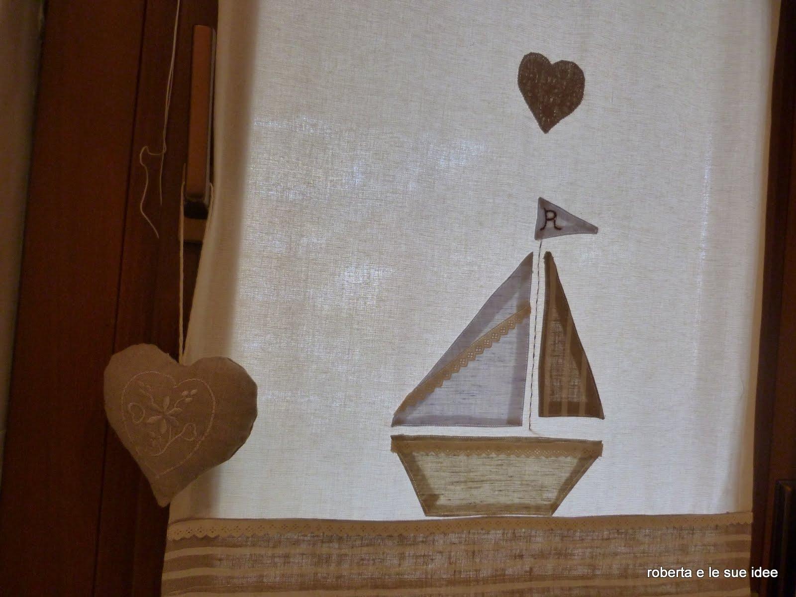Roberta e le sue idee tenda da bagno - Tenda bagno finestra ...