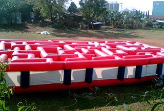 Labirinth inflatable