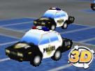 3D Polis Arabası Parket Oyunu