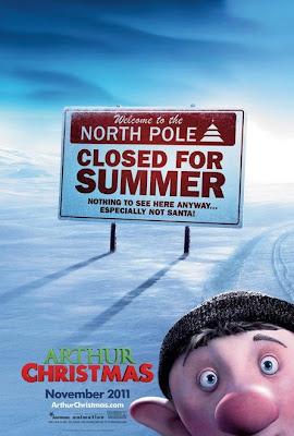 Arthur Christmas Film Posteri