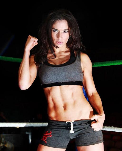 sarita-women wrestling-sarah stock-consejo mundial de lucha libre