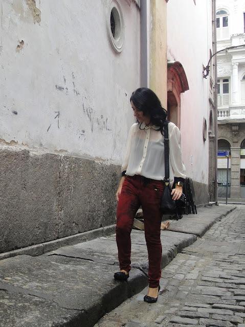 look do dia, vinho, centro do Rio, Arco dos Teles