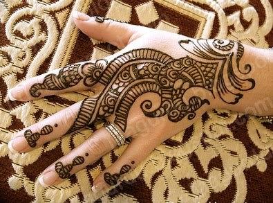 Henna Mehndi Love : Henna mehndi tattoo designs idea on back of hand tattoos art ideas