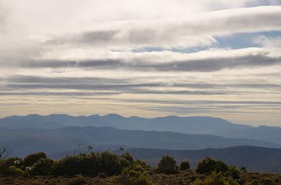 Wellington Range from Hartz Plateau - 5th April 2011