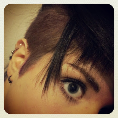 KatSick undercut shaved hair