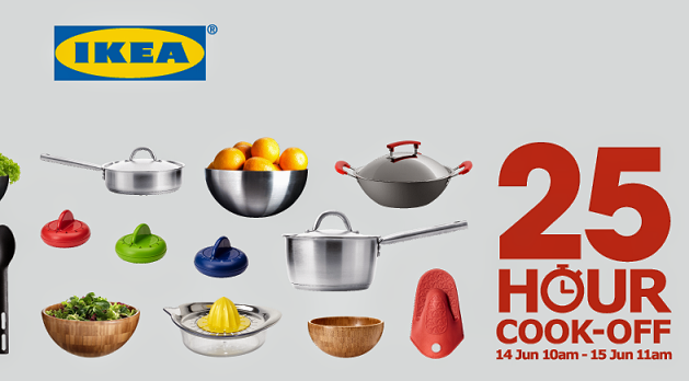 | JOM MEMASAK TANPA HENTI | BERSAMA IKEA |