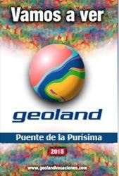 Catálogo de viajes Geoland Puente de la Purísima