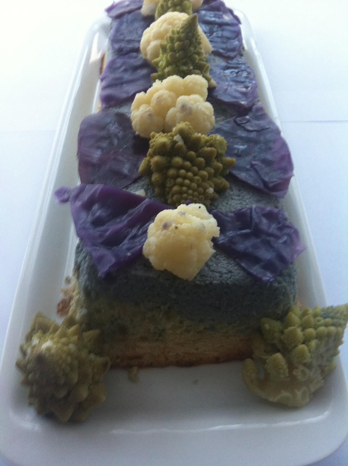 Las recetas de martuka pastel de lombarda coliflor y for Cocinar lombarda