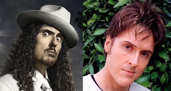Weird Al without facial hair