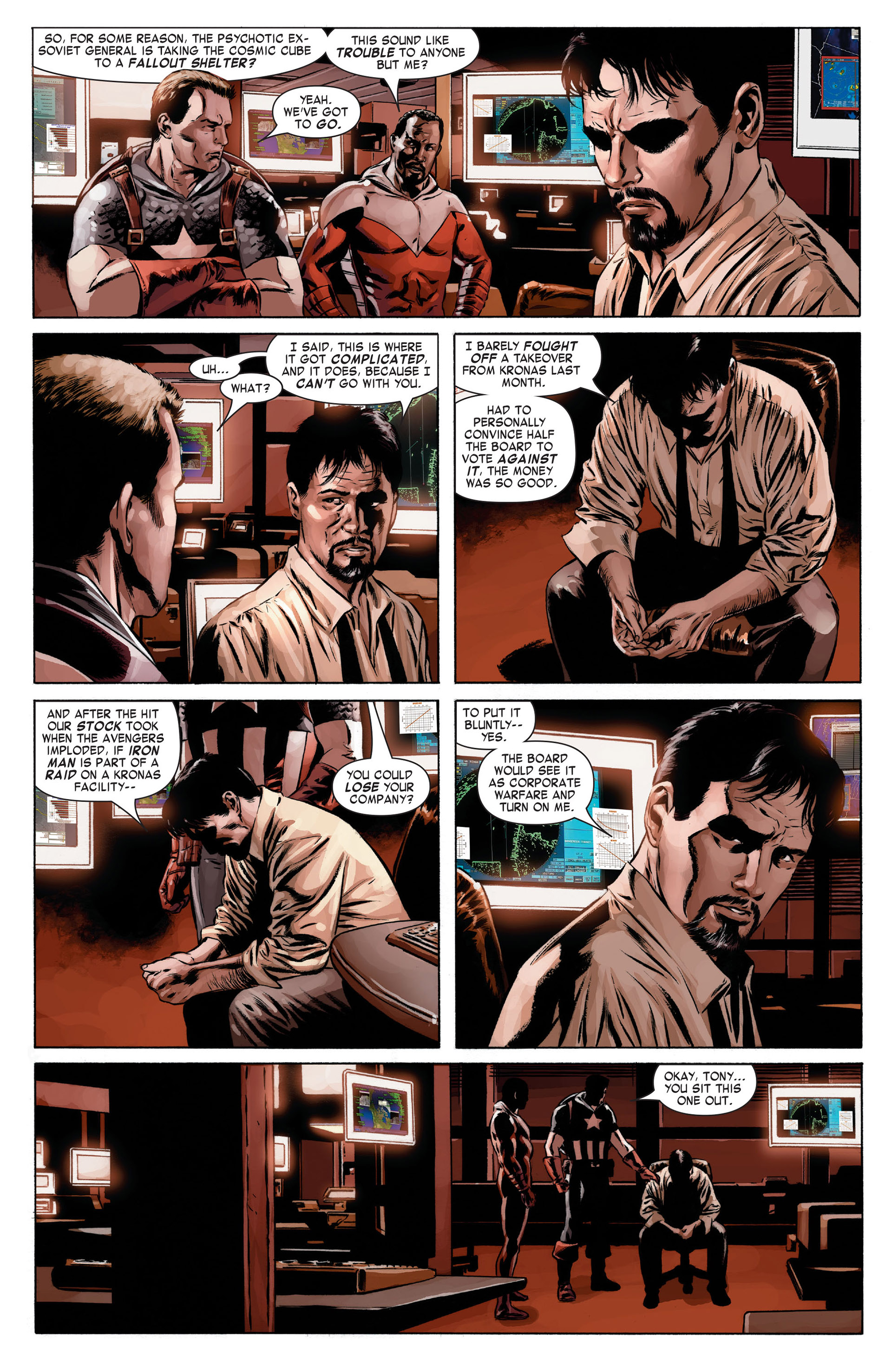 Captain America (2005) Issue #13 #13 - English 18
