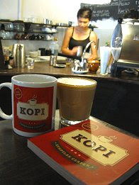 """Kopi"" at Artisan Roast TTDI, KL"