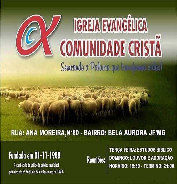 COMUNIDADE CRISTÃ EM JUIZ DE FORA/UBÁ!!!