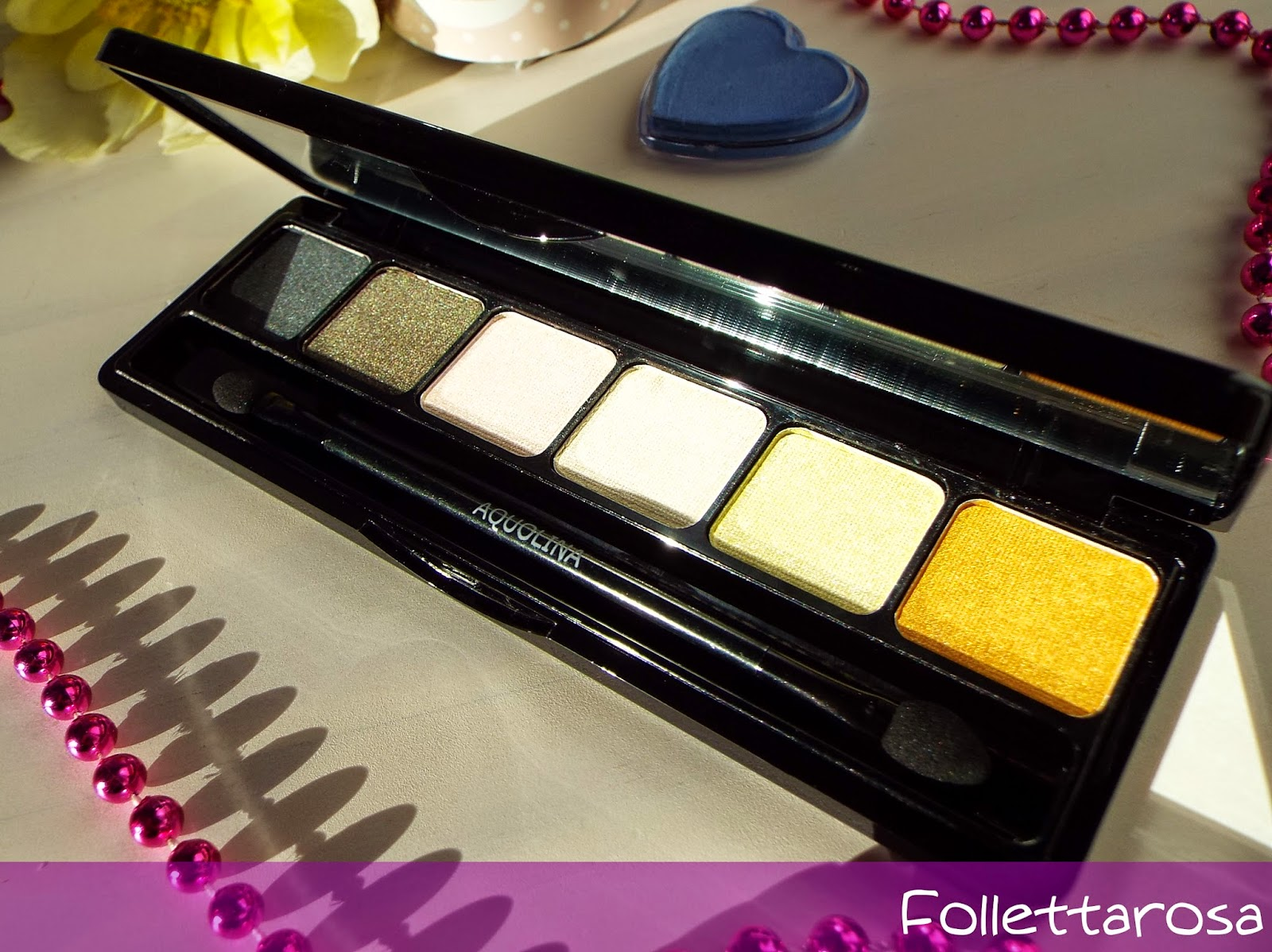 palette occhi aquolina make up
