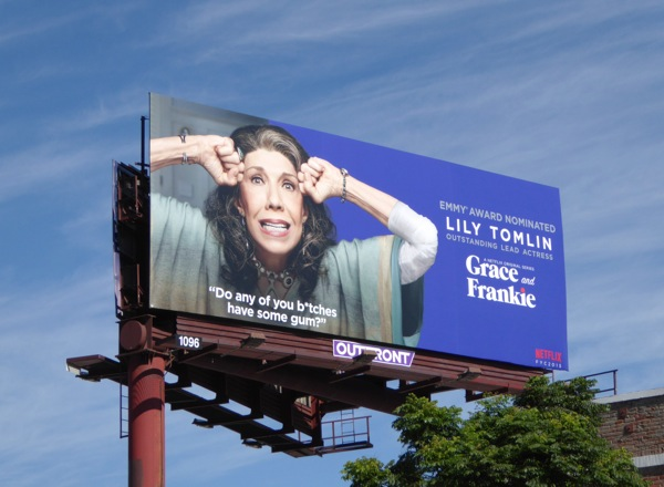 Lily Tomlin Grace and Frankie Emmy 2015 billboard