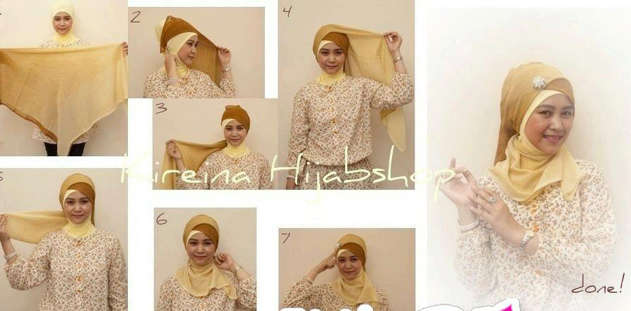 Cara Pakai Jilbab With Paris Chapter 1 Turban Style