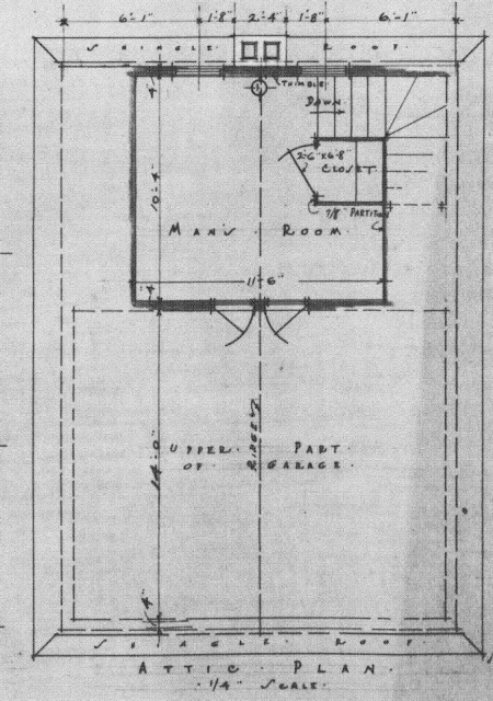 Once Upon A House Blueprint For A Colonial Revival Garage