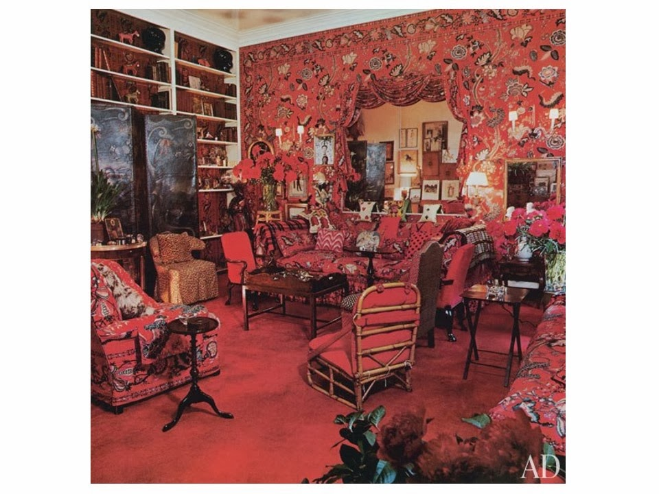 Diana Vreeland living room