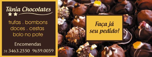 Tânia Chocolates Artesanais - Encomendas e Revendas