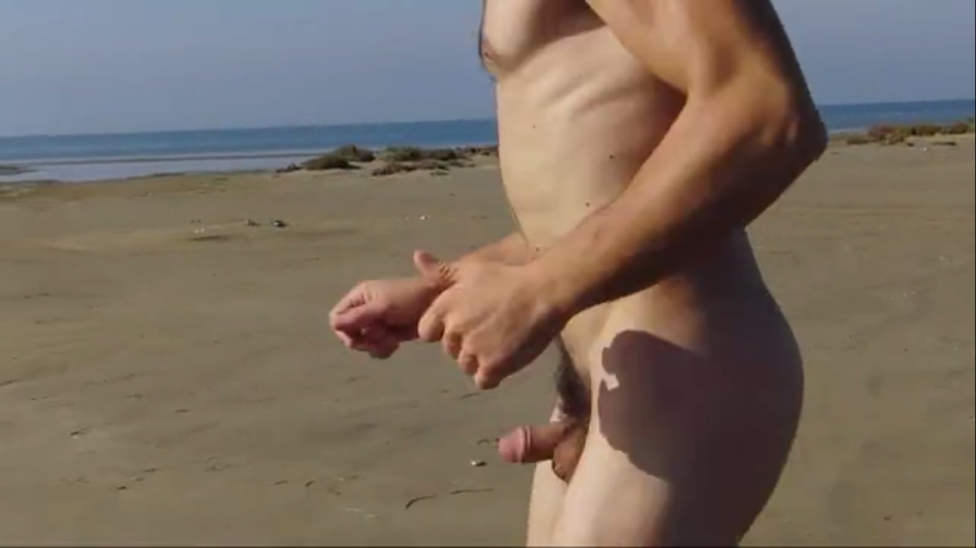 nude young men running