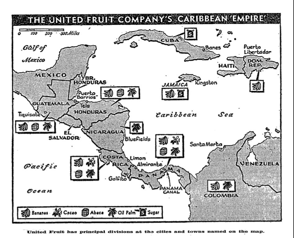 imperialism in pablo nerudas united fruit
