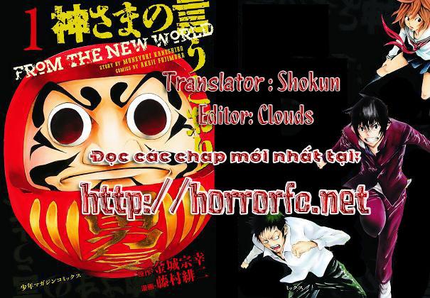 Kamisama no Iutoori chap 4 Trang 1