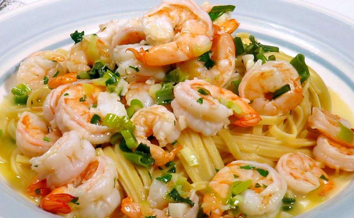 GeCook: Linguine With Shrimp Scampi Recipe