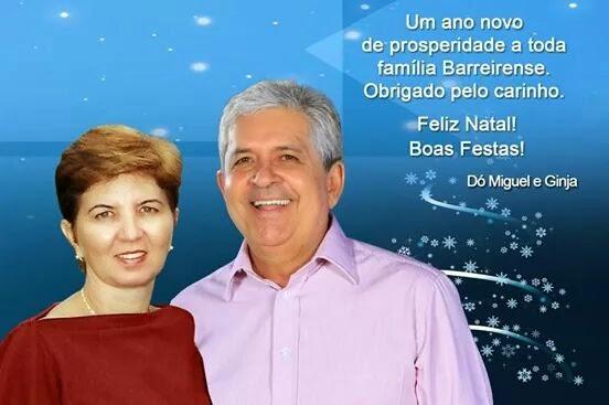 Feliz Natal! Boas Festas! Dó Miguel e família