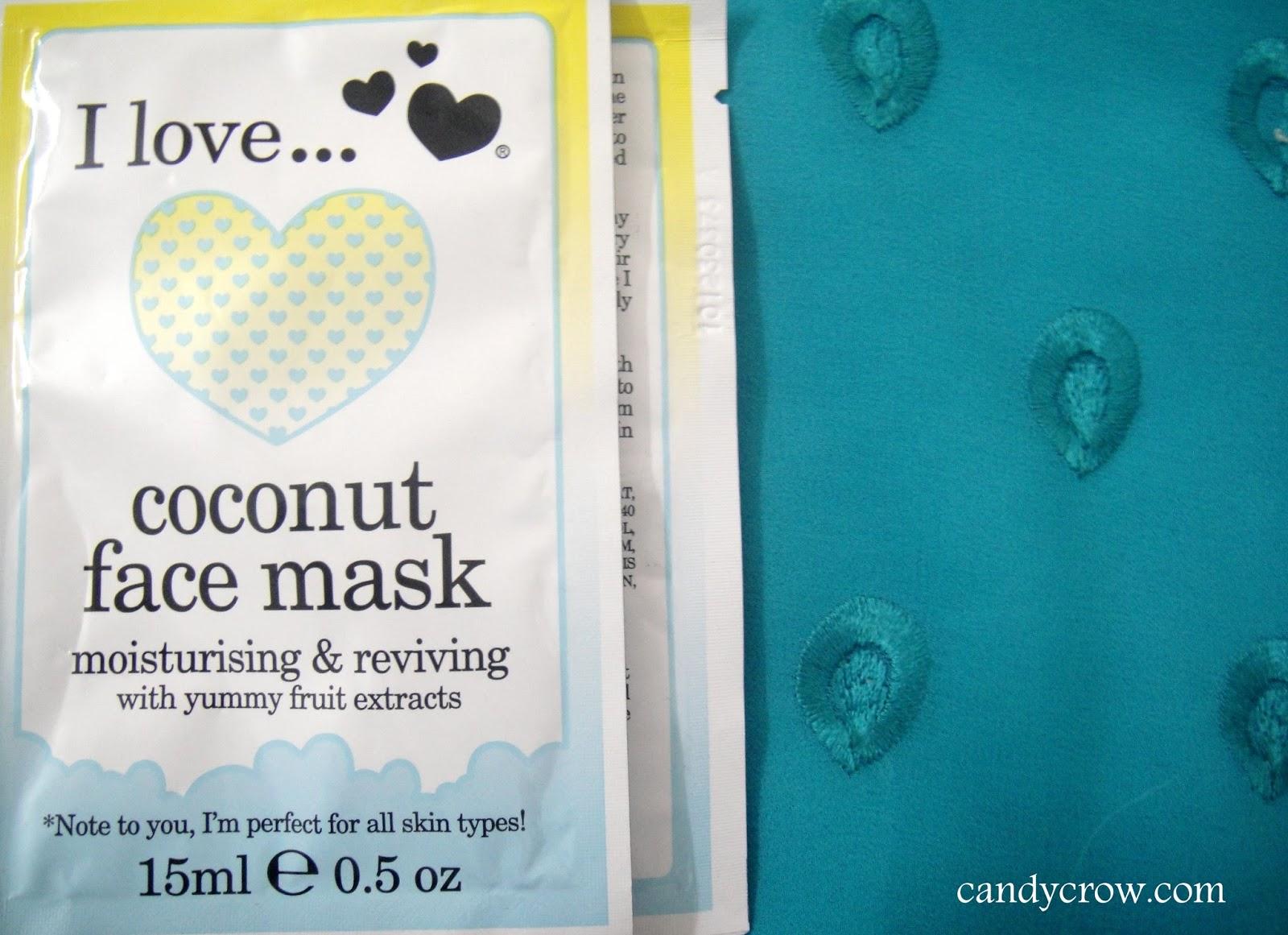 I Love... Coconut Mask