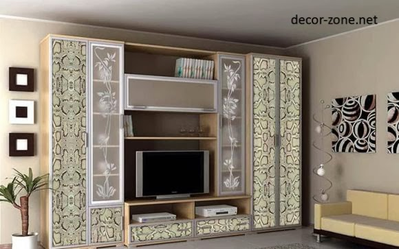 decorated tv wall units living room design ideas