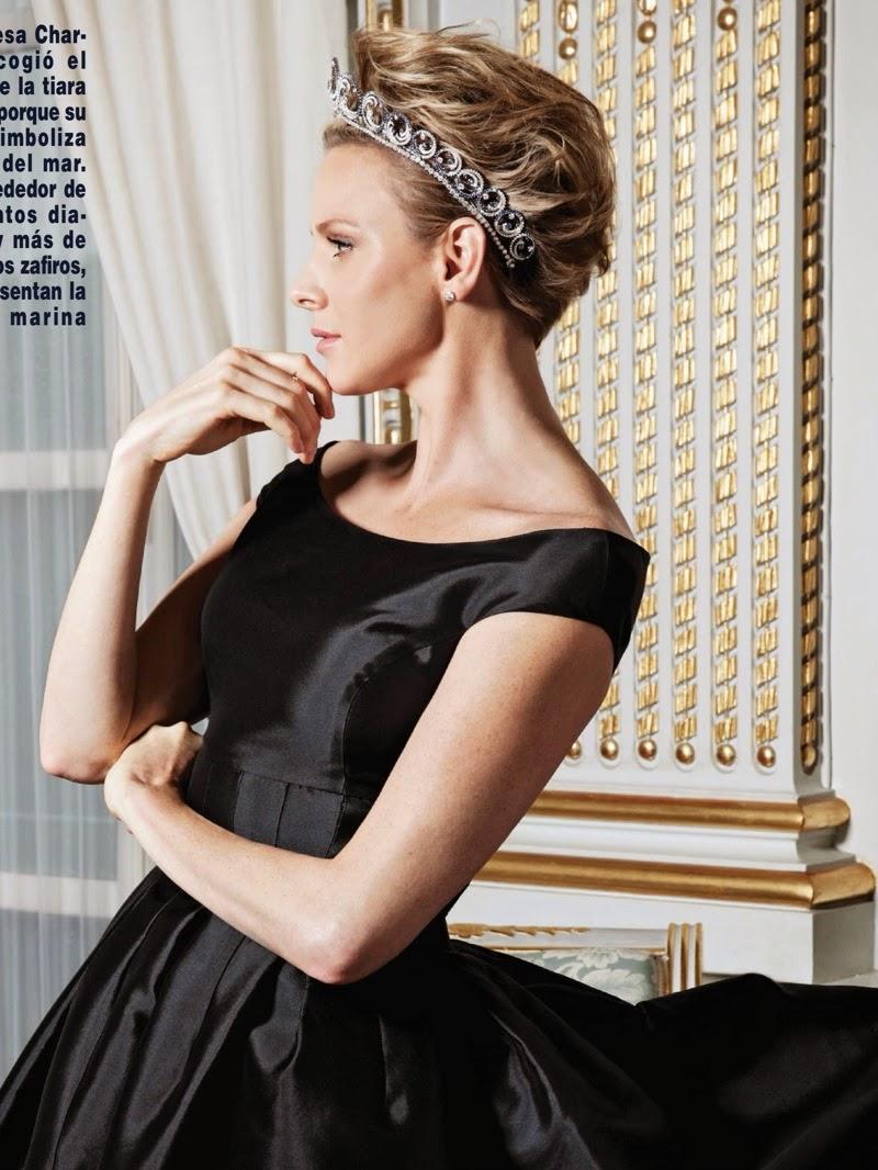 The Royal Digest Tiara Time Princess Charlene S Van