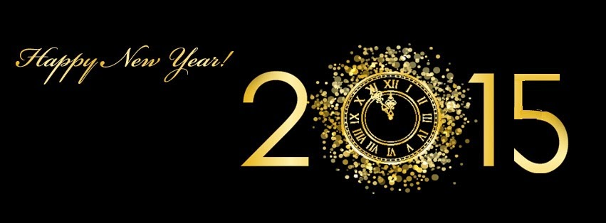 Facebook cover for the New Year