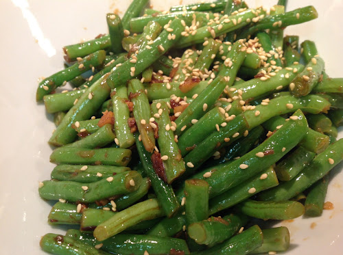 Garlic-Ginger Green Beans
