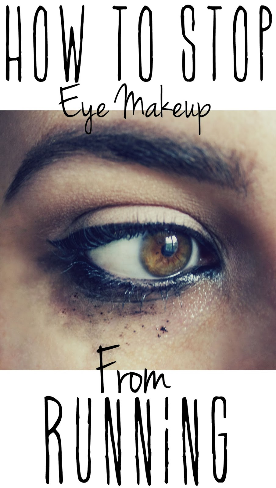 How To Stop Eye Makeup From Running | QuinnFaceMakeup ... Raccoon Eyes Makeup Crying