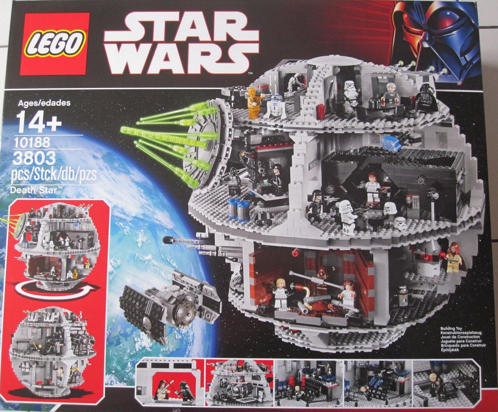 Lego star wars set num ro 10188 l 39 etoile noire les briques de toulouse - L etoile noire star wars ...