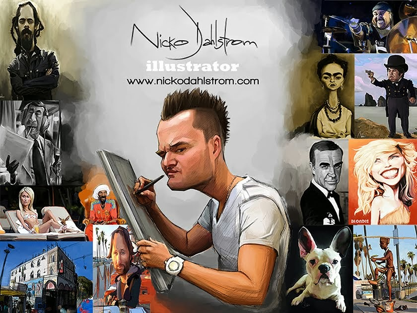 Art of Nicko Dahlstrom