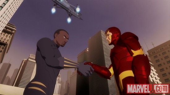 Characters and Voice Actors  Iron Man Armored Adventures