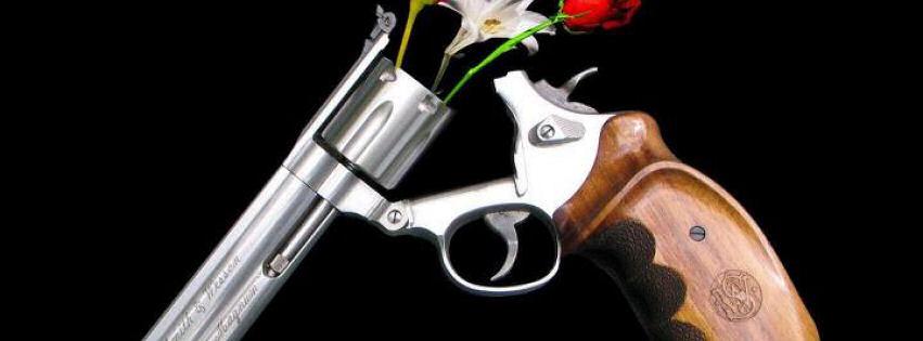 Silah ve güller kapak resimleri