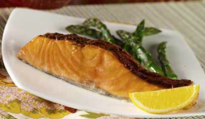 Sweet Spiced Salmon