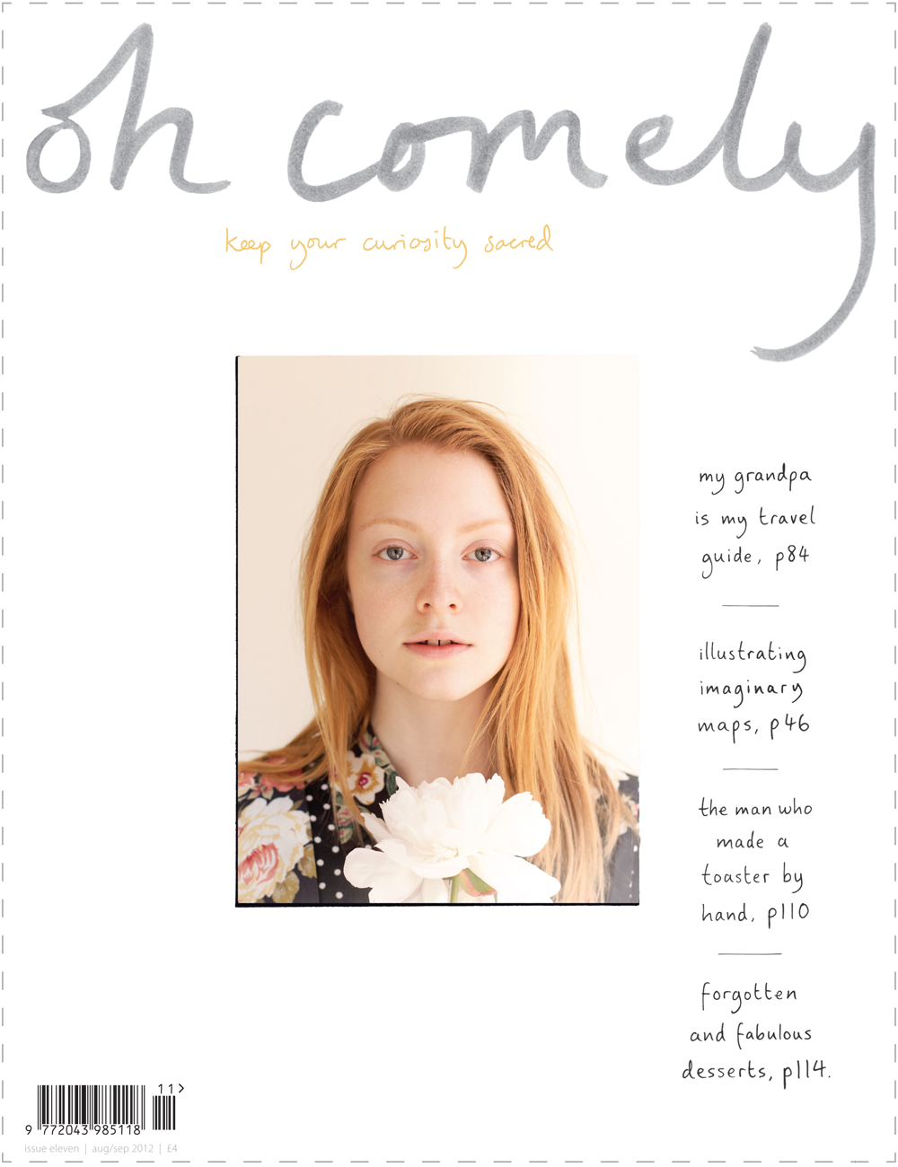 Oh Comely magazine, issue 11