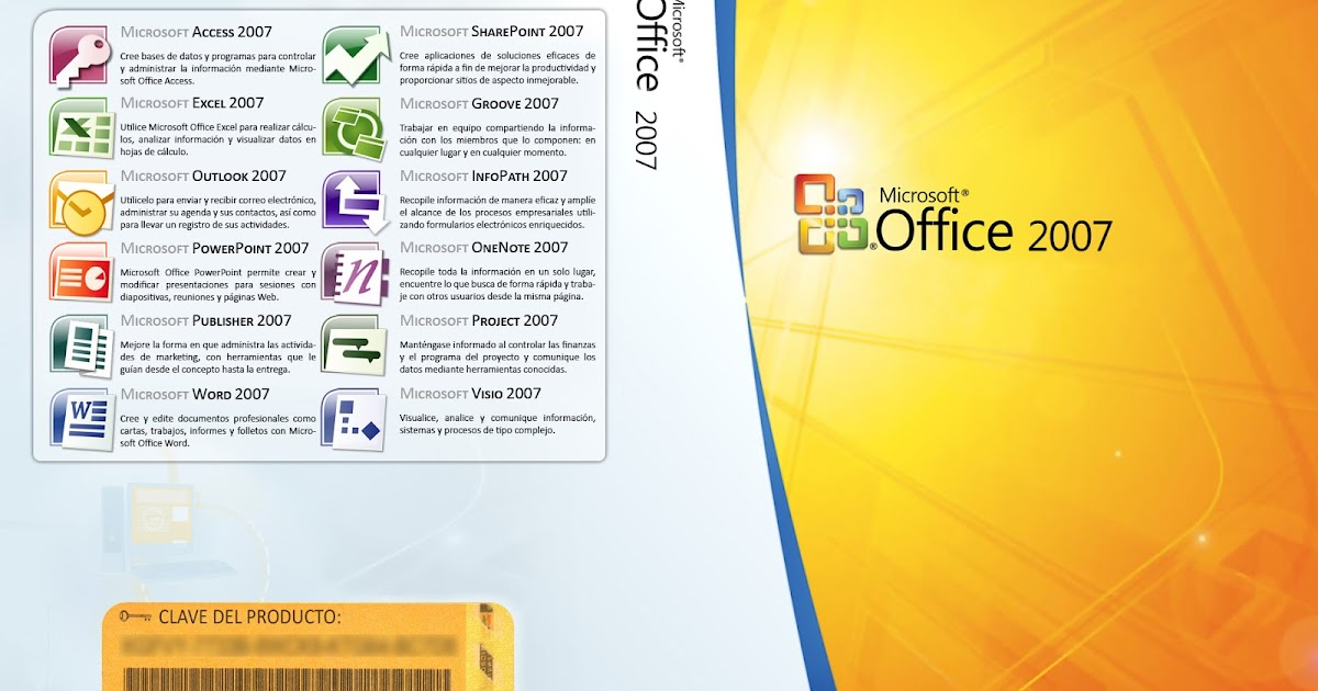 Microsoft Office 2007 Professional Official Free Download ...