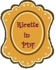 Tutte le ricette in formato PDF