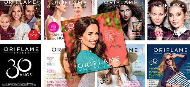 O Catálogo Oriflame