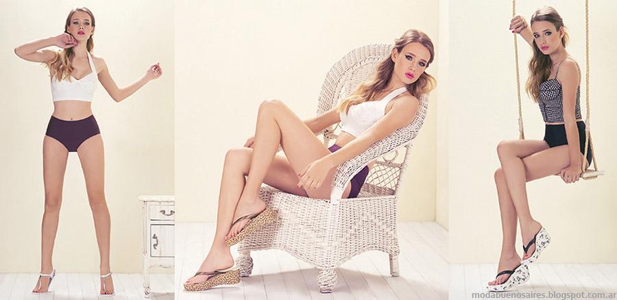 Lady Stork primavera verano 2015 ojotas.