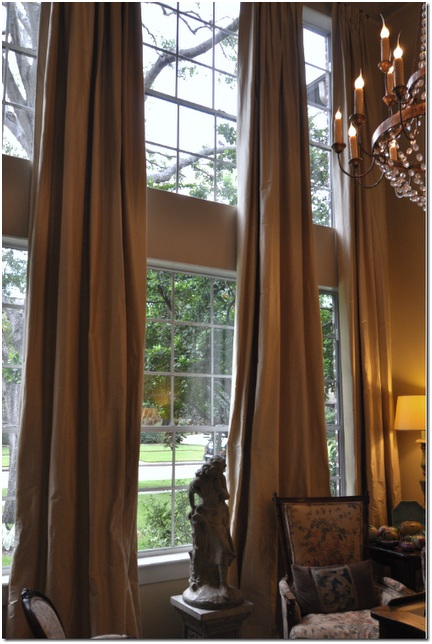 Google image result for High ceiling curtain ideas