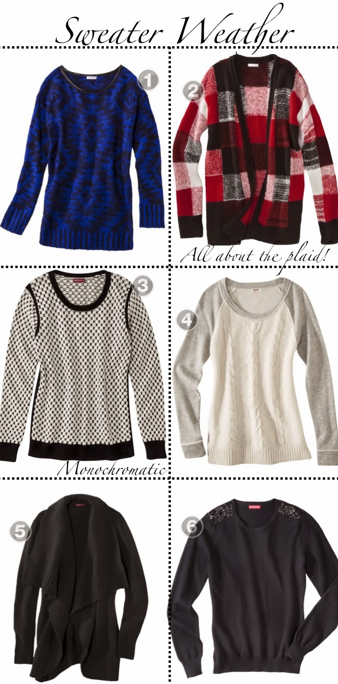 Sweater Weather: Sweaters under $30!
